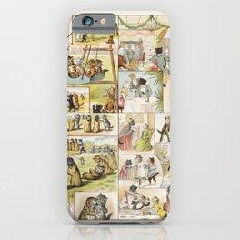 Storybook Cats II, Arie Willem Segboer, 1903 - 1919 iPhone Case