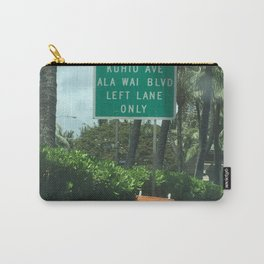 Urban signs in Hawaii Carry-All Pouch