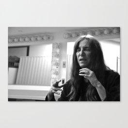 Patti Smith Expains Canvas Print