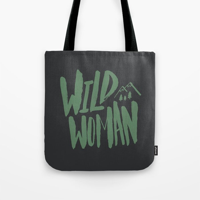 Wild Woman Tote Bag