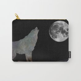 Galaxy Wolf Carry-All Pouch
