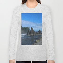 Morning At Ruby Beach Long Sleeve T-shirt