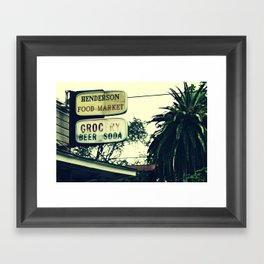 6th Ward Framed Art Print