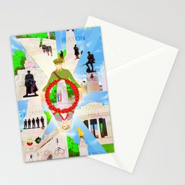 WW1 memorials in London Stationery Cards
