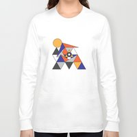 egypt Long Sleeve T-shirts featuring Egypt by Randy Mandy