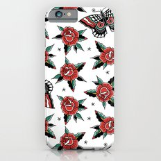 Butterfly Classic Tattoo Flash iPhone 6 Slim Case