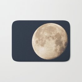 Amazing moon Bath Mat