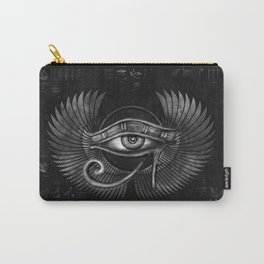 Egyptian Eye of Horus - Wadjet Digital Art Carry-All Pouch
