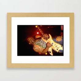 "Mike ""Kid Funkadelic"" Hampton Framed Art Print"