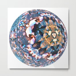 Globe05 Metal Print