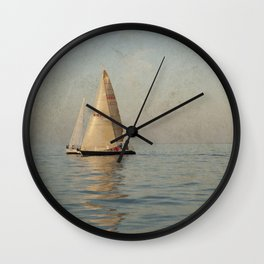 Calm Seas Wall Clock