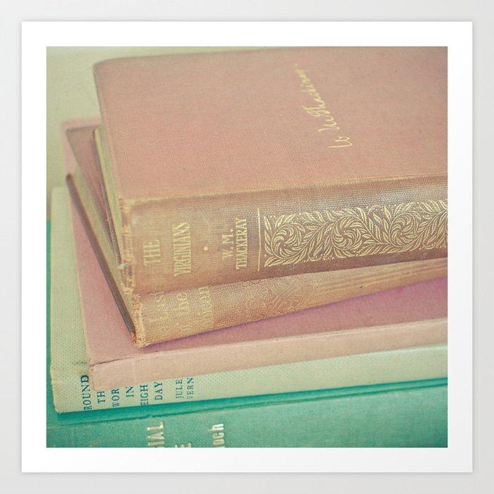 Book Lover Art Print