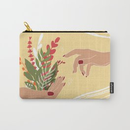 The Creation of Life Carry-All Pouch
