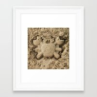 crab Framed Art Prints featuring crab by Кaterina Кalinich