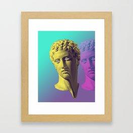 Double Jeopardy Framed Art Print