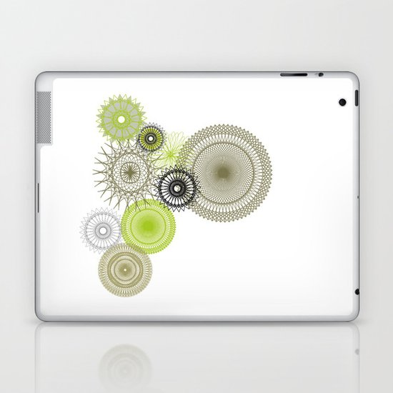 Modern Spiro Art #1 Laptop & iPad Skin
