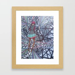 The Puppeteers Confinement Framed Art Print