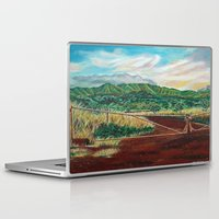 country Laptop & iPad Skins featuring Country by Art by Risa Oram