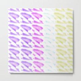 Pastel Colors Design Metal Print