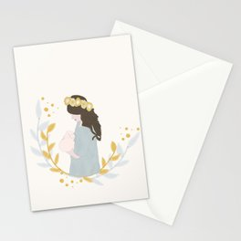 Nursing Mom Stationery Cards