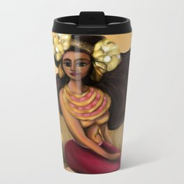 Hoola Rosa Metal Travel Mug
