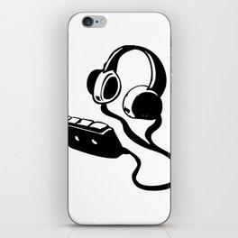 WALKMAN WITH HEADPHONES  iPhone Skin