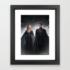 The Court of Dreams Framed Art Print
