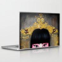 asia Laptop & iPad Skins featuring Asia by Melanie Arias