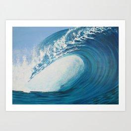 The Blue Zone Art Print
