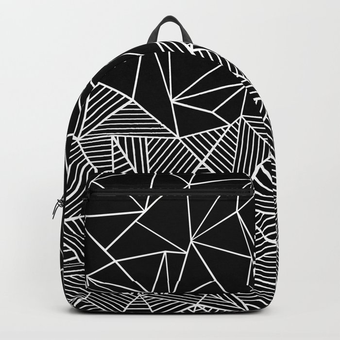 Ab Half and Half Black Backpack