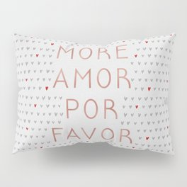 More Amor Rose Gold Pillow Sham