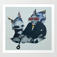 Knighted for Nothing Art Print