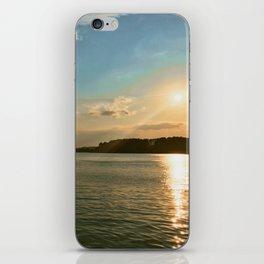 Smith Mountain Sunset. iPhone Skin