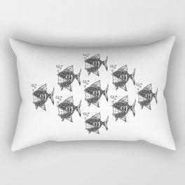Happy Fish Rectangular Pillow