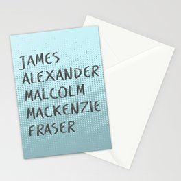 James Alexander Malcom Mackenzie Frazer Stationery Cards