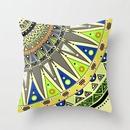 Ethnic tribal ornament 3 Throw Pillow