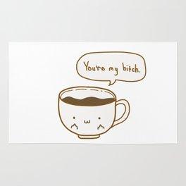 Coffee's Bitch Rug