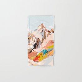 glass mountains Hand & Bath Towel