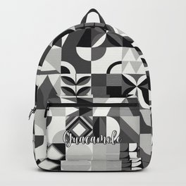 SQUARES BLACK Backpack