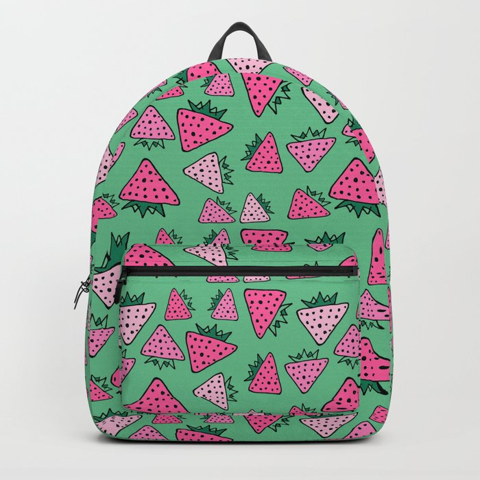 strawberry green Backpack