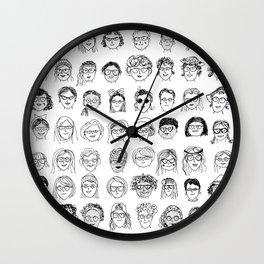 Smart Women Wall Clock