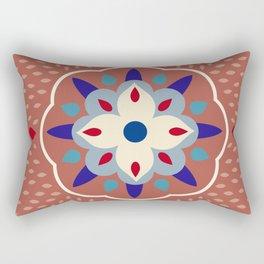 mandala, iranian, moroccan Rectangular Pillow