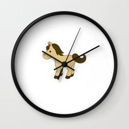Horse design for Boys Wall Clock