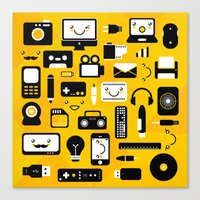 technology Canvas Prints featuring Technology  by adrianperive