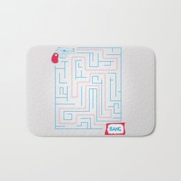 Bang! Bath Mat