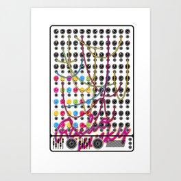 RADIO JUNKY SEQUENCER Art Print