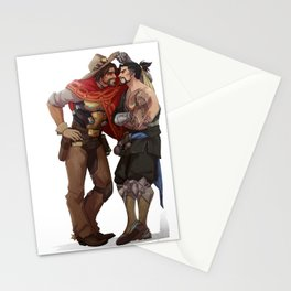 Mccree and Hanzo Stationery Cards