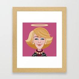 Comics of Comedy: Joan Rivers Framed Art Print