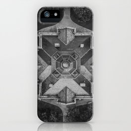Denton, Texas Courthouse From Above iPhone Case