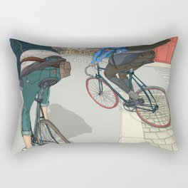 City traveller Rectangular Pillow